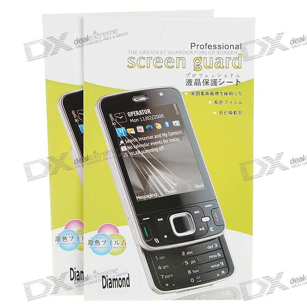 LCD Screen Protector for HTC Touch Diamond (2-Piece Set)