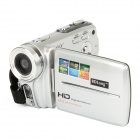 "HD-200 3.0"" TFT 5.0MP Digital Camcorder w/ 16X Digital Zoom / Micro USB 2.0 / AV - Silver"