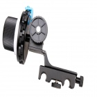 15mm Rod Follow Focus F4 for DSLR - Black