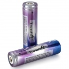 TrustFire 18650 2000mAh 3.7V Rechargeable Li-ion Battery - Blue + Purple (2 PCS)