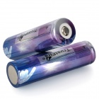TrustFire 18650 2000mAh 3,7 V recargable de Li-ion - Blue + Purple (2 PCS)