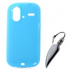 NILLKIN Protective TPU Back Case for HTC G22 / X715e - Blue