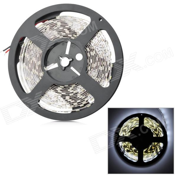 72W 4200lm 6500K 300-5050 SMD LED White Light Flexible Lamp Strip (DC 12V / 5m) zdm waterproof 72w 200lm 470nm 300 smd 5050 led blue light strip white grey dc 12v 5m