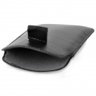 Protective Artificial Leather Case Pouch Bag for Samsung Galaxy S III / i9300 - Black
