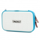 Project Design Stripe Pattern Protective Nylon Pouch w/ Strap for NDSi - Red