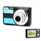 "HDC-570 9.0MP CMOS Digital Camera w/  2.7"" TFT LCD / 5X Optical Zoom - Black"