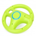 Plastic Racing Wheel Controller for Wii - Green