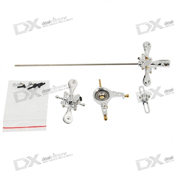 Silvery Metal Upgrade Kit for E_Sky Lama V3/V4 R/C Helicopter