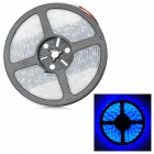 72W 2700lm 300-5050 SMD LED Blue Light Flexible Strip w/ Waterproof Silicone Sleeve (DC 12V / 5m)