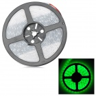 72W 3150lm 300-5050 SMD LED Green Light Flexible Strip w/ Waterproof Silicone Sleeve (DC 12V / 5m)
