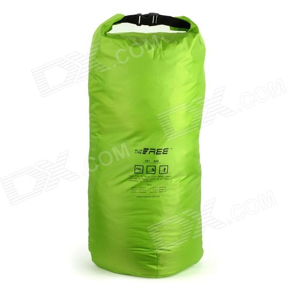 TheFree G-70L Nylon + PU Outdoor Waterproof Bag - Green (70L) universal nylon cell phone holster blue black size l