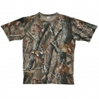 Ranger Camo Hunting Woodland T-Shirt - Camouflage (XL)