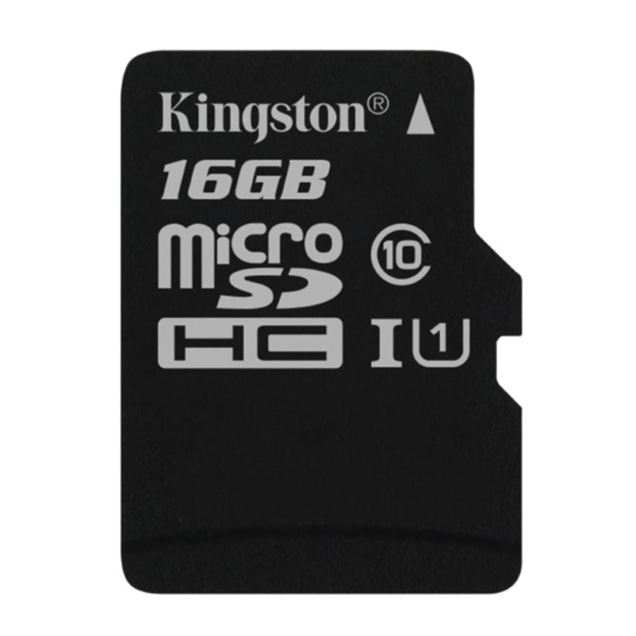 Kingston SDC10/16GB microSDHC Memory Card - Black (16GB / Class 10)