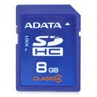 ADATA C4-8G SDHC Memory Card - Blue (8GB / Class 4)