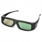 Universal USB Rechargeable 3D Active Shutter Glasses for TV - Black