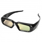 Universal USB Chargeable 3D Active / DLP Projector Shutter Glasses - Black