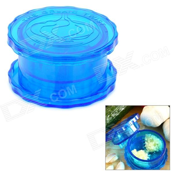 Plastic Garlic and Ginger Press Twist Mincer - Blue цена