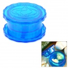 Plastic Garlic and Ginger Press Twist Mincer - Blue