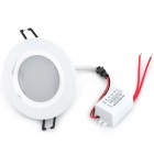 INHIDA IHD-X03A005W 3W 255lm 6500K LED White Light Ceiling Lamp - White (86~265V)
