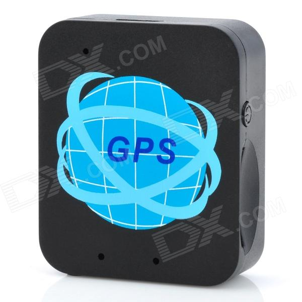 forecum FK-A9 Global Positioning GSM Tracker w/ Charger + USB Cable - Black
