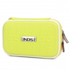 Project Design Stripe Pattern Protective Fabric Pouch w/ Strap for Nintendo DSi - Yellow
