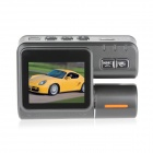 Frente Angle 2.0 '' TFT 5.0MP CMOS Wide & Rear View carro DVR Camcorder w / 8 LED / Controle Remoto