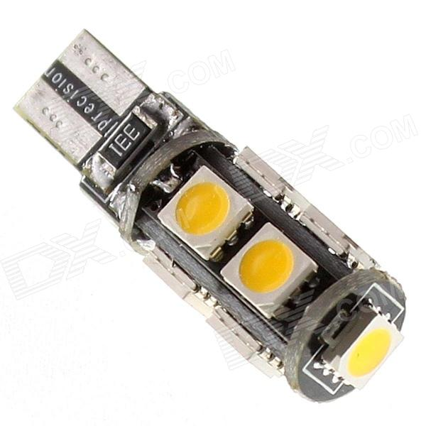 T10 2.5W 135lm 9-SMD 5050 LED Car Side Marker / Dashboard / Door / Turn Signal Light (12V)