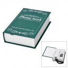 Creative Book Shaped Wired Telephone - Green