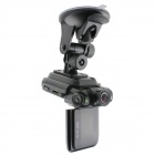 "2.0"" TFT 5.0MP CMOS HD 1080P Wide Angle Car DVR Camcorder w/ 2-IR LED / HDMI / AV / USB - Black"