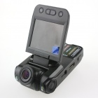"2.0"" TFT 5.0MP CMOS HD 1080P wide ângulo carro DVR filmadora w / 2-IR LED / HDMI / AV / USB - preto"