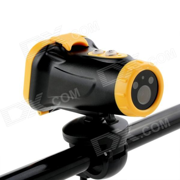 Sports Diving 1.5'' TFT 5.0MP CMOS Wide Angle Video Recorder Camcorder w/ TF / USB / AV