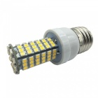 E27 7W 120-SMD 3528 LED 700lm Warm White Light Lamp (85~265V)