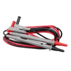 UNI-T UTL27 Multimeter Test Lead Cable - Red + Black (120cm / 2PCS)