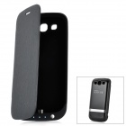 3200mAh mobile externe Backup Power Battery Charger Case für Samsung Galaxy S III / i9300 - Black