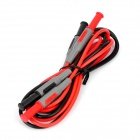 UNI-T UT-L06 Multimeter Test Extension Lead Probe - Red + Black (120cm / 2 PCS)