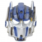 Optimus Prime Style ABS Face Mask for Halloween Makeup - Blue
