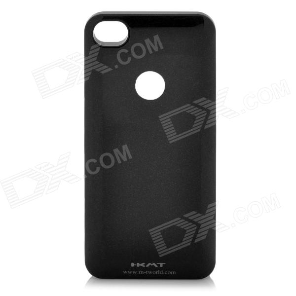 1680mAh Backup Battery Case & Wireless Charger Set for iPhone 4 / iPhone 4S - Black