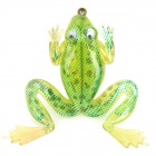 Soft Lifelike PVC Rubber Frog Style Fishing Bait - Green (3.5g / 40mm)