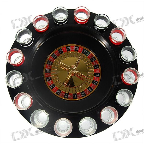 Lucky Shot Drinking Roulette Game - Large (16-Cup Set)