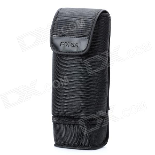 FOTGA TYJTB-2 Double Layers Padded Nylon Bag Case for Canon Speedlite 580EX / 430EX + More