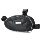 ACACIA Fashion Cycling Bike Bicycle Triangle Pipe Tube Bag - Black