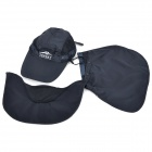 Topsky Outdoor Sports Quick-Dry UV Protection Nylon Fabric Cap Hat w/ Detachable Cover - Deep Blue