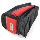 ACACIA Cycling Bicycle Bike Seat Saddle Extending Bag - Red + Black