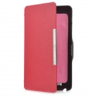 Protective PU Leather Flip-Open Case w/ Holder for Google Nexus 7 - Red