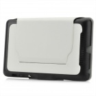 Protective PU Leather Flip-Open Case w/ Holder for Google Nexus 7 - White