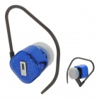 Mini Rechargeable Bluetooth V2.0 + EDR Hands Free Headset - Blue