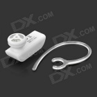 Mini Bluetooth V2.1 Hands Free Headset - White (80 Hours-Standby)