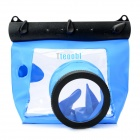 Tteoobl GQ-518 Universal Diving Waterproof Bag Case for Digital SLR Camera - Blue