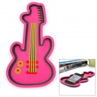 Creative Guitar Style Silicone Anti-Slip Pad - Deep Pink