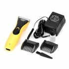 YUHO YH-688 Rechargeable Hair Clipper Trimmer with Accessories Set for Pet - Yellow